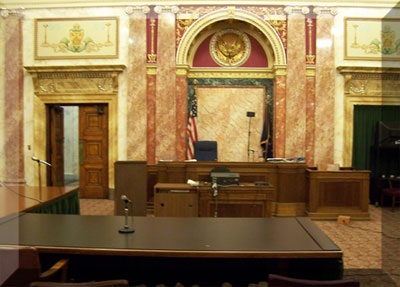 Allen County Courthouse -  Criminal Courtroom